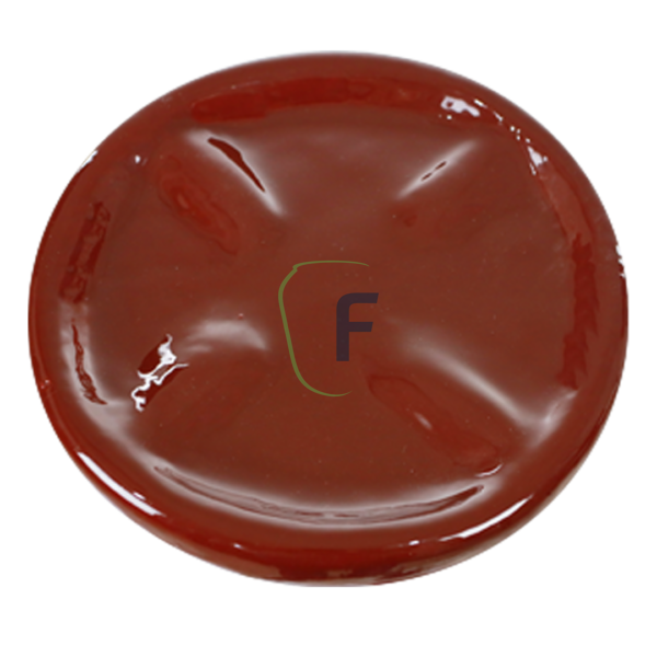 Prato vermelho Fibrasul